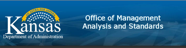 Kansas Department of Administration, Office of Management Analysis and Standards